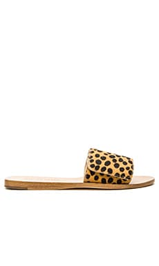 Loeffler Randall Sibi Calf Hair Sandal in Cheetah