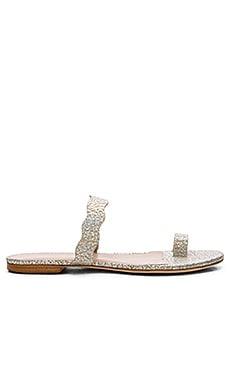 Loeffler Randall Petal Sandal in Silver