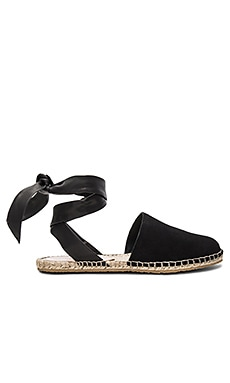 Heloise Espadrille in Black