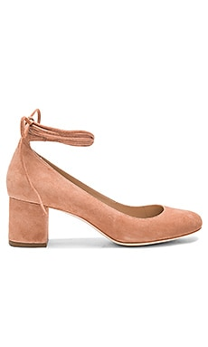Clara Heel in Deep Blush
