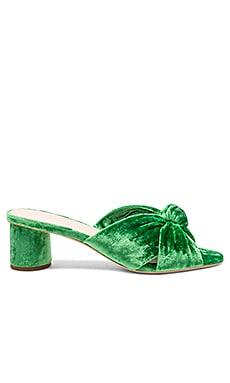 Celeste Mid Heel Knot Slide Loeffler Randall $350 NEW ARRIVAL