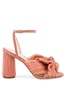 Camellia Knot Mule With Ankle Strap Loeffler Randall $395