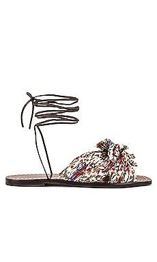 Peony Knot Wrap Sandal Loeffler Randall $225