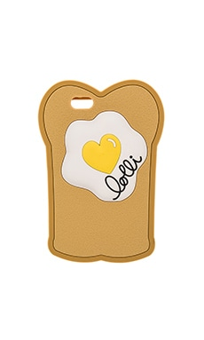 lolli swim Toasty Egg IPhone 6/6s Case in Toast
