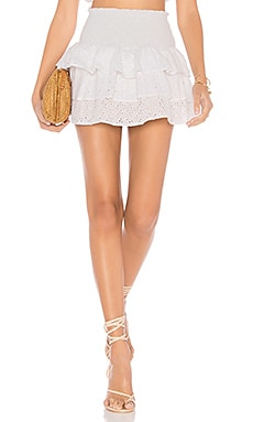 x REVOLVE Eyelet Skirt lolli swim $99