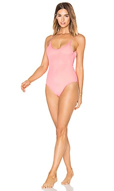 Barbie One Piece in Papaya