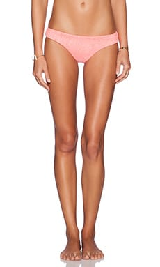 lolli swim Popsie Bikini Bottom in Hot Coral