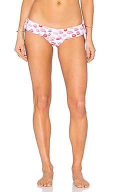 lolli swim Flirt Bikini Bottom in Smooch