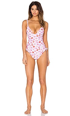 lolli swim Princess One Piece Swimsuit in Smooch