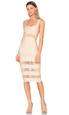 Sophie Midi Dress in Creme