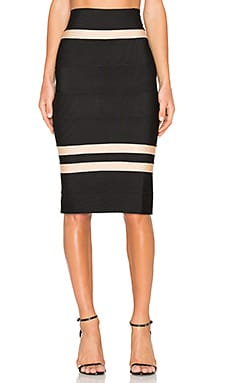 Clara Fitted Midi Skirt