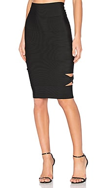 Sophia Cut Out Midi Skirt