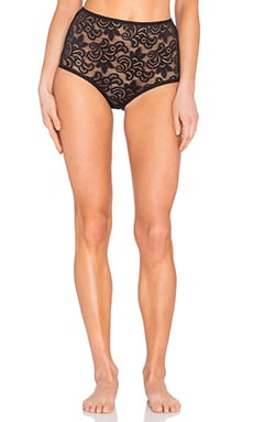 Betty Highwaisted Brief in Black