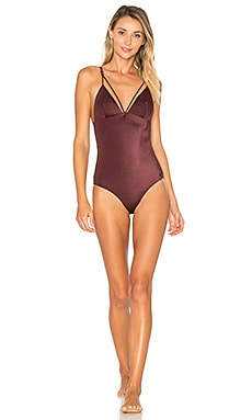 Sabina Swimsuit in Oxblood