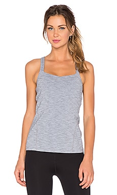 Lorna Jane Liberty Excel Tank in Mid Grey Marl