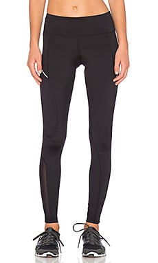 Lorna Jane Tri Core Compression Legging in Black