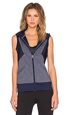 Lorna Jane Angelique Vest in Ink Marl