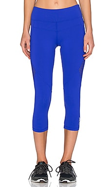 Lorna Jane Melrose Core Stability 7/8 Tight in Magnetic Blue