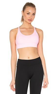 Bondi Sports Bra in Pale Fairy Floss