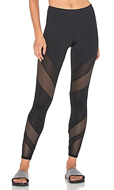Lorna Jane Shimmer Legging in Black