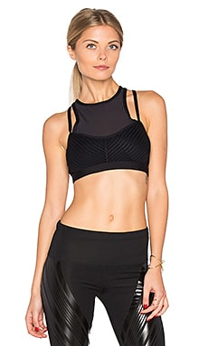 Zenith Sports Bra in Black
