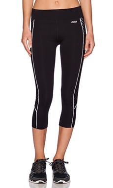 Lorna Jane Tigress 7/8 Legging in Black