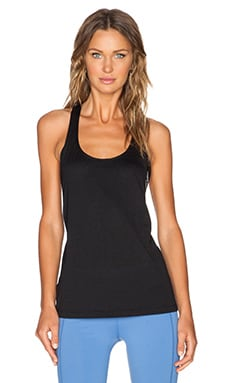 Lorna Jane Lie Low Excel Tank in Black