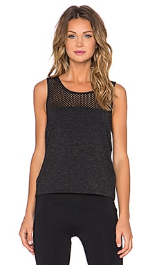 Lorna Jane Starlight Tank in Black Sparkle