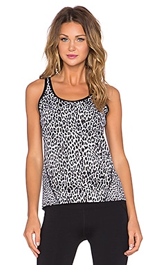 Lorna Jane Jungle Fever Excel Tank in Black & White