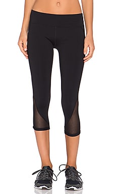 Lorna Jane Alex 7/8 Legging in Black