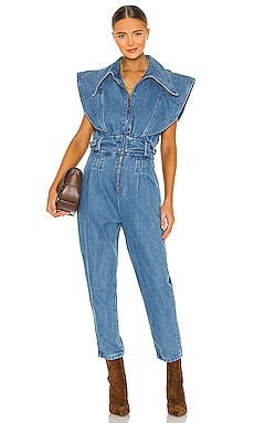 Blue Jeans Jumpsuit IORANE $460 NEW