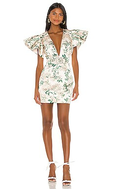Vintage Garden Strass Buckle Mini Dress IORANE $695 NEW ARRIVAL