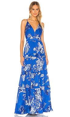 Blue Bird Long Dress IORANE $290