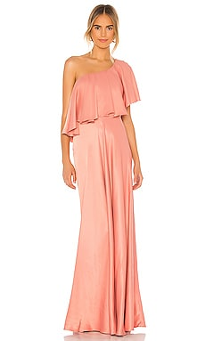 One Shoulder Gown IORANE $384
