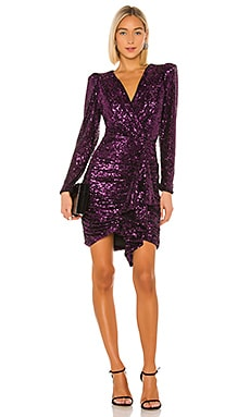 Sequin Ruffle Mini Dress IORANE $695 BEST SELLER