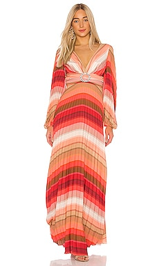 Tropical Rainbow Maxi Dress IORANE $975 NEW ARRIVAL