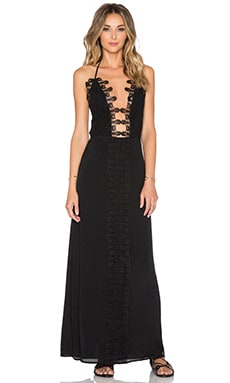 Le Salty Label x REVOLVE Maxi Dress in Black