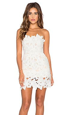 Le Salty Label Dahlia Dress in White