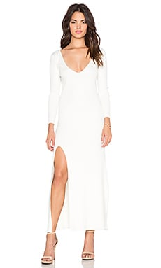 Le Salty Label Exotica Maxi Dress in White