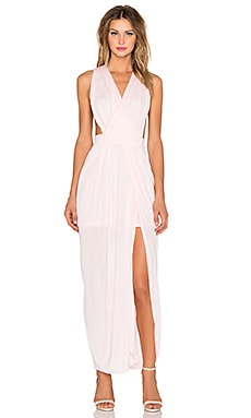 Le Salty Label Allure Grecian Maxi in Pale Pink