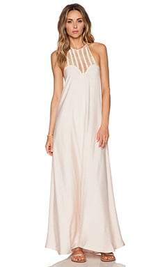 Le Salty Label Sundown Maxi Dress in Blush