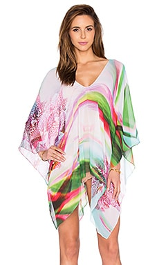 Lotta Stensson Open Side Poncho in Little Orchid