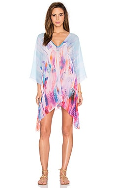 Lotta Stensson Seamed Tunic in Pastel Feather Chiffon