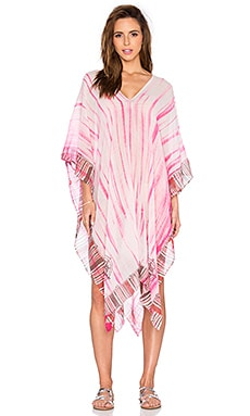 Lotta Stensson Fisherman's Village Regular Poncho in Pink Modal
