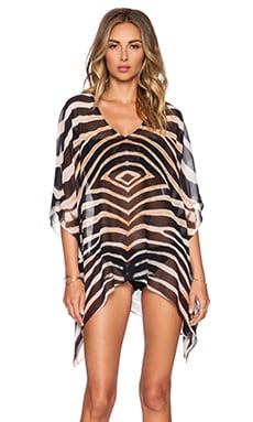 Lotta Stensson Caftan Top in Zebra