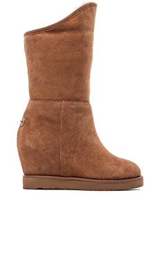 Australia Luxe Collective Cosy Tall Wedge in Chestnut