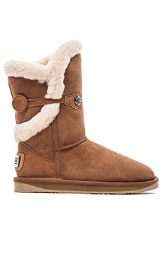 Australia Luxe Collective Nordic Shearling Short Boot in Chestnut