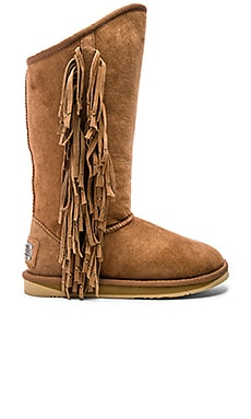 Australia Luxe Collective Naeve Tall Boot in Chesnut