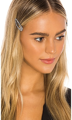 Ritz Hair Clips Lovers + Friends $38