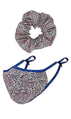 Mask Scrunchie Set Lovers + Friends $4 (FINAL SALE)
